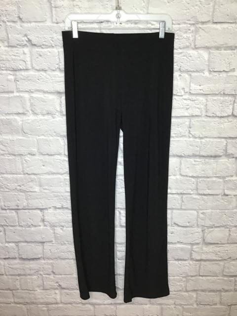 BCBGMaxAzria Size S Black Polyester Solid Pull-on Pants - Fashion Exchange Consignment