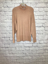 Reiss Women's Size XS Peach Acrylic/Wool Blend Nylon/Elastaine Sweater