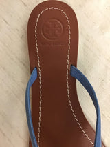 Tory Burch Women's Size 8 Blue Leather Sandals