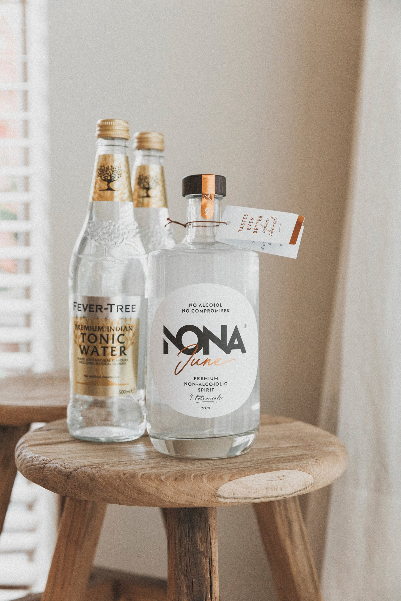 NONA June + 2 x Indian tonic 50cL