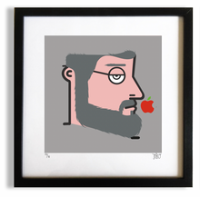 "Load image into Gallery viewer, ""Byte into an Apple"" (Biancaneve & Steve Jobs)"