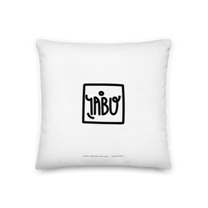 """NO"" (Tributo M. Schifano) - Premium Pillow"