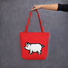 Load image into Gallery viewer, Porca Mis€ria - Tote bag total red