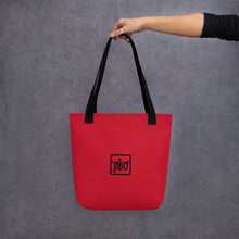 Load image into Gallery viewer, Porca Mis€ria - Tote bag red