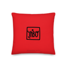 "Carica l'immagine nel visualizzatore di Gallery, ""Untitled"" (Tribute to K. Haring) - Premium Pillow red"