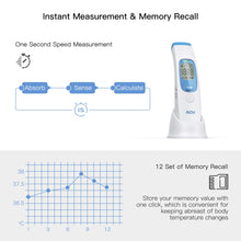 Load image into Gallery viewer, Digital LCD Ifrared Thermometer