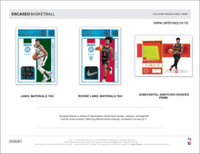 Load image into Gallery viewer, 2019/20 Panini Encased Basketball Hobby Box