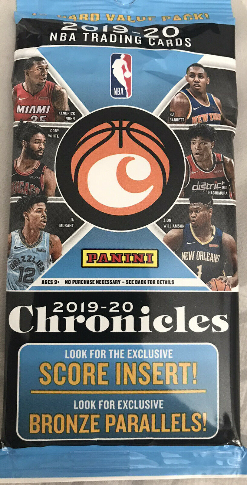 2019/20 Panini Chronicles Basketball Fat Pack