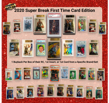 Load image into Gallery viewer, 2020 Super Break 'First Time' Sealed Box