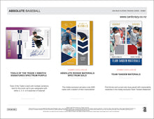 Load image into Gallery viewer, 2020 Panini Absolute Baseball Hobby Box