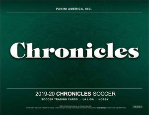 2019/20 Panini Chronicles Soccer Hobby Box