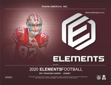 Load image into Gallery viewer, 2020 Panini Elements Football Hobby Box