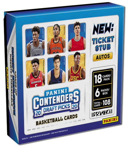 2020/21 Panini Contenders Draft Picks Basketball Hobby Box