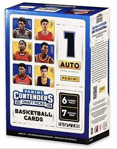 2020-21 Panini Contenders Draft Picks Collegiate Basketball Blaster Box