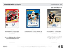 Load image into Gallery viewer, 2020 Panini Donruss Optic Football Hobby Box