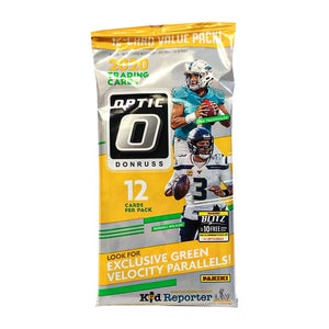 2020 Panini Donruss Optic Football Fat Pack