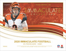 Load image into Gallery viewer, 2020 Panini Immaculate Football Hobby Box