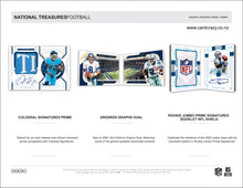 Load image into Gallery viewer, 2020 Panini National Treasures Football Hobby Box
