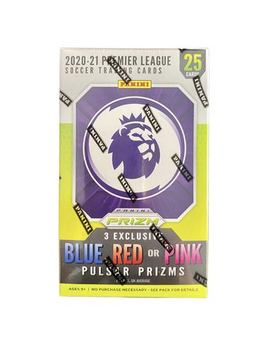 2020/21 Panini Prizm Premier League Soccer Cereal Box