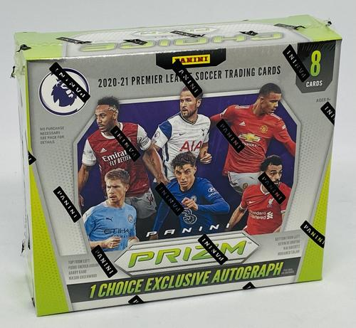 2020/21 Panini Prizm Premier League Soccer Hobby Choice Box