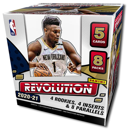 2020/21 Panini Revolution Basketball Hobby Box