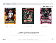 Load image into Gallery viewer, 2020/21 Panini Certified Basketball Hobby Box