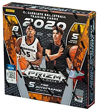 2020/21 Panini Prizm Collegiate Draft Picks Basketball Hobby Box