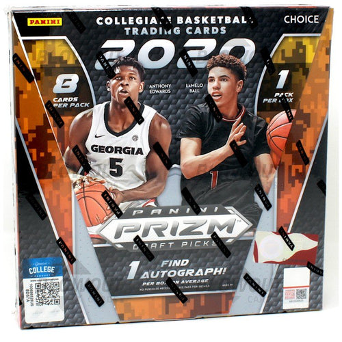 2020/21 Panini Prizm Collegiate Draft Picks Basketball Choice Box