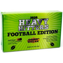 Load image into Gallery viewer, 2020 Super Break Heavy Hitters Football Edition Box