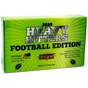 2020 Super Break Heavy Hitters Football Edition Box