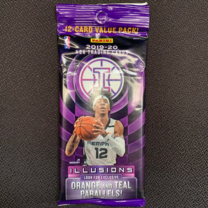 2019/20 Panini Illusions Basketball Fat Pack