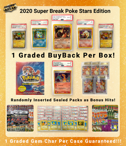 2020 Super Break Poke Stars Edition Box