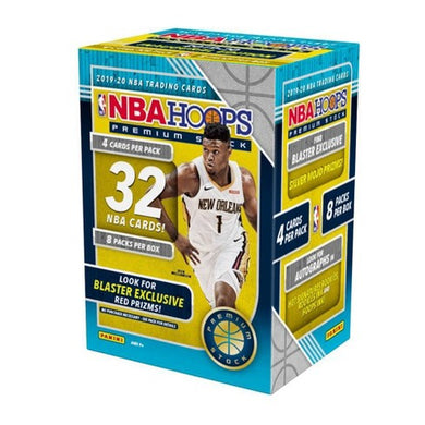 2019/20 Panini NBA Hoops Premium Stock Basketball Blaster Box