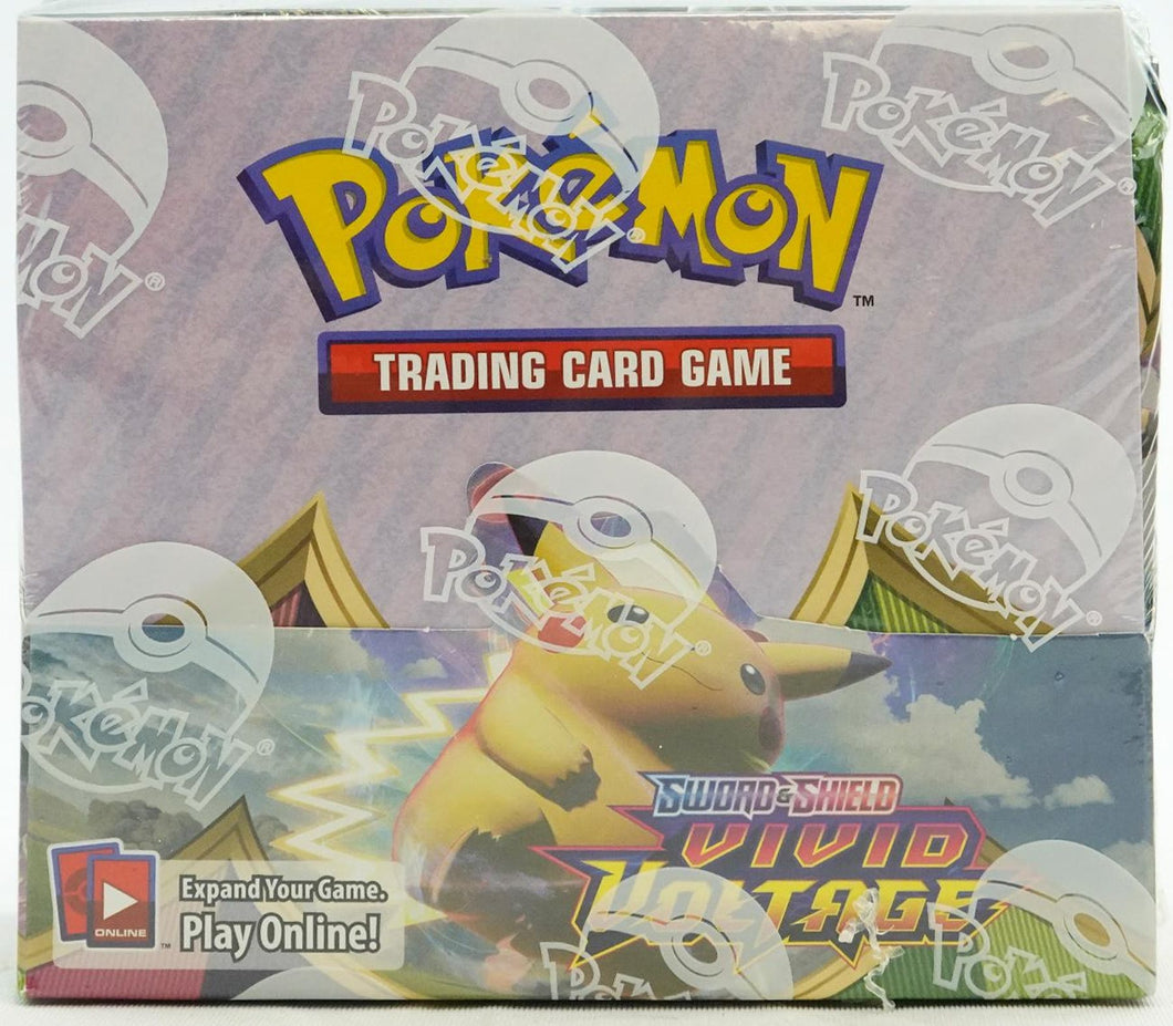 Pokemon Sword & Shield Vivid Voltage Booster Box - 36 Packs