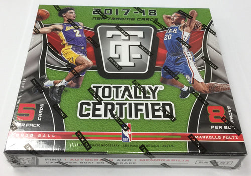 2017/18 Panini Totally Certified Hobby Box