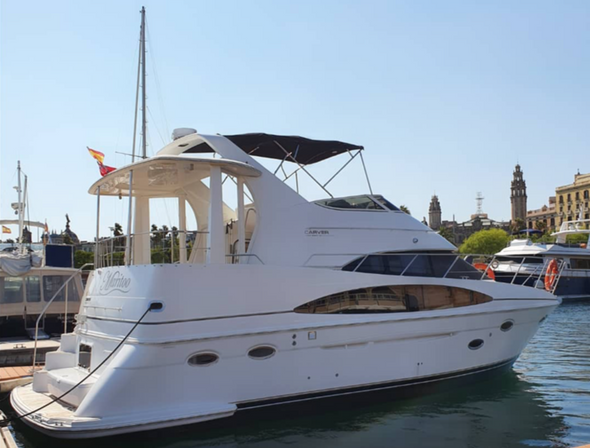 All Inclusive Boat Trip 8 pax Barcelona