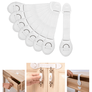 TinyToes™ Safety Strap Locks (Pack of 10)