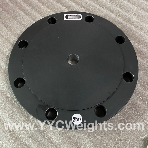 "25LB Weight Plate to fit 1"" Bar"