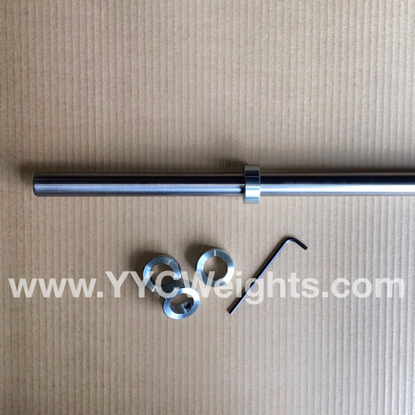 7 Foot Long Barbell with collars (1 INCH)