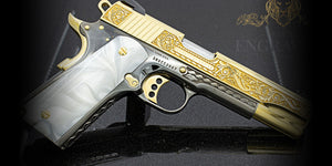 24K Gold Plated & Engraved Competition Model 38 Super