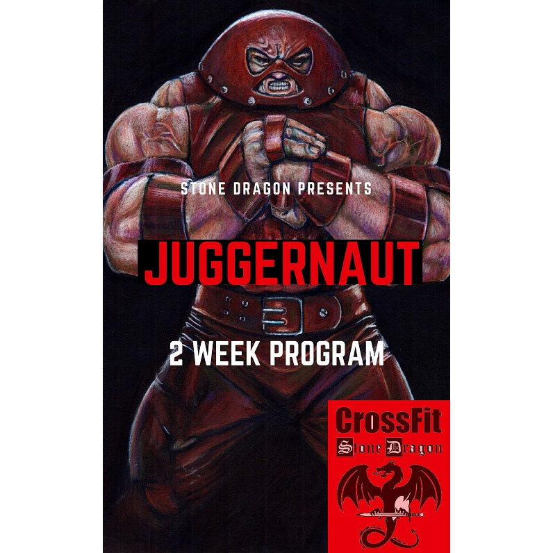 JUGGERNAUT 2 WEEK PROGRAM