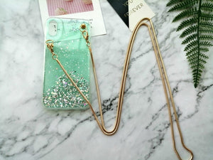 Iphone telefoon hoes met ketting Meant 2 Mint