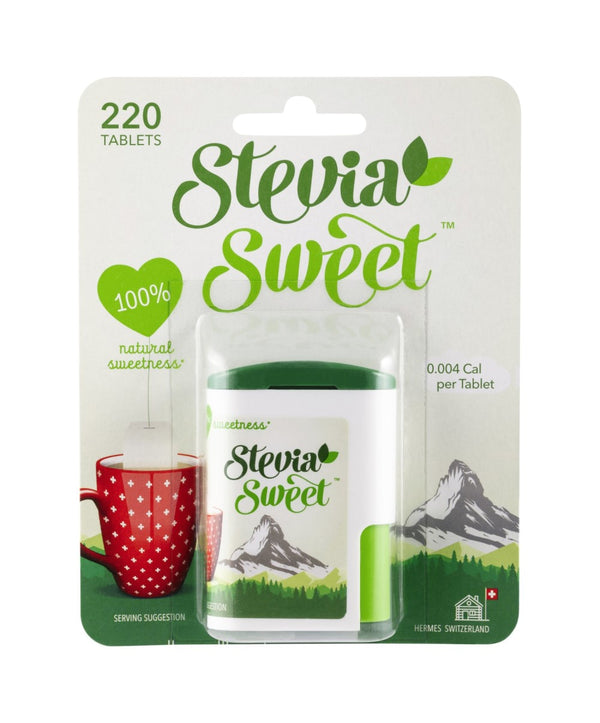 Stevia Sweet Sweetener, 6 packets of 220 Tablets