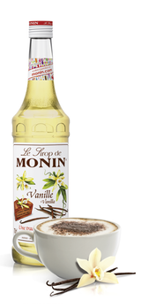 Monin Vanilla Syrup, 6 x 700ml