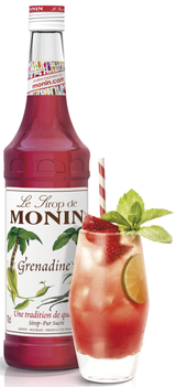 Monin Grenadine Syrup, 6 x 700ml