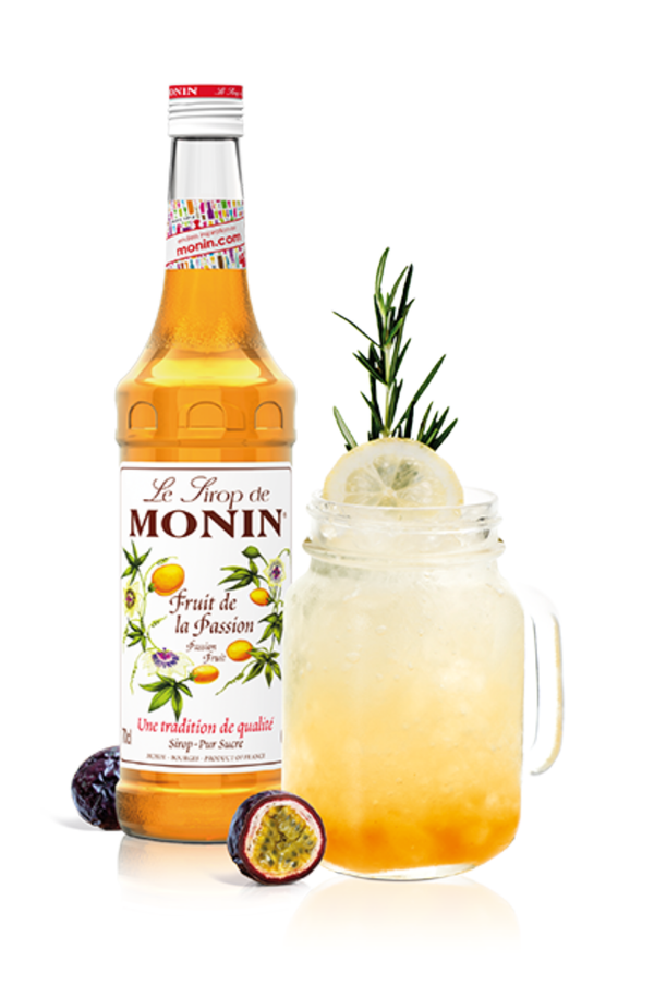 Monin Passion Fruit Syrup, 6 x 700ml