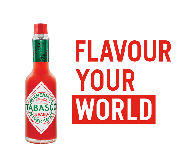 Tabasco Original Red Pepper Sauce, 12 x 60ml