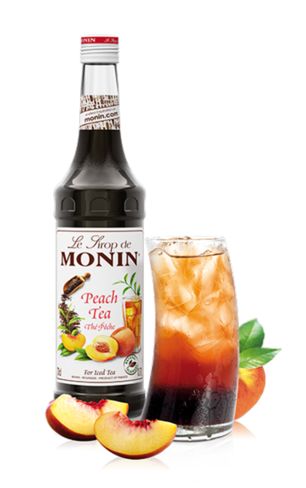 Monin Peach Tea Syrup, 6 x 700ml