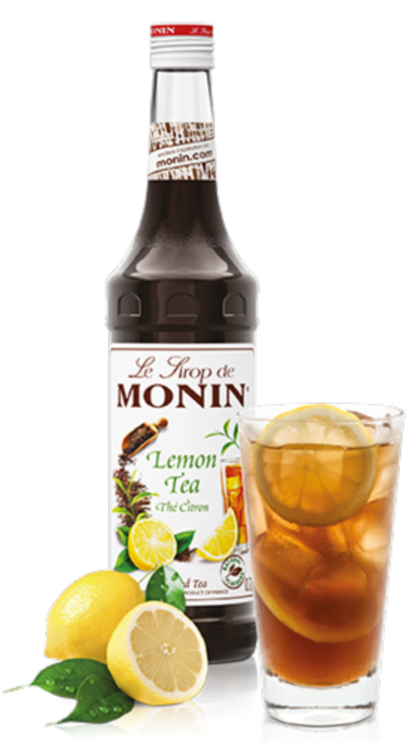 Monin Lemon Tea Syrup, 6 x 700ml