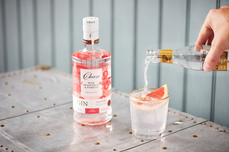 Chase Pink Grapefruit & Pomelo Gin, 700ml (Consumer)